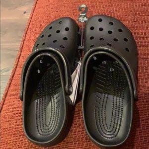 Classic Crocs.